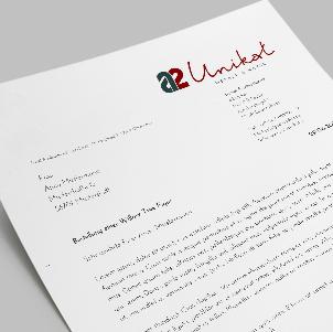 Briefpapier Als Word Vorlage Für A2 Unikat